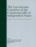 The Low Income Countries of the Commonwealth of Independent States