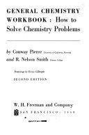 General Chemistry Workbook Book