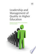 Leadership and Management of Quality in Higher Education