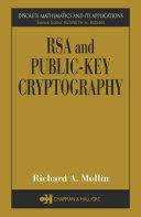 RSA and Public-Key Cryptography Pdf/ePub eBook