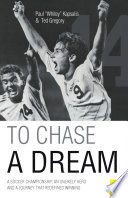 To Chase a Dream Book PDF