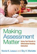 Making Assessment Matter