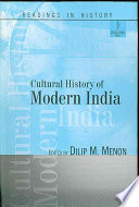 Cultural History of Modern India