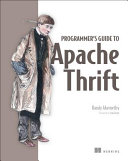 Programmer s Guide to Apache Thrift