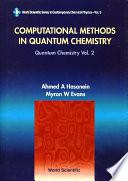Computational Methods in Quantum Chemistry  Volume 2