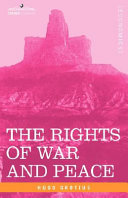 Pdf The Rights of War and Peace, Including the Law of Nature and of Nations Telecharger
