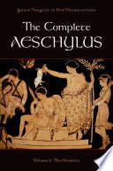 The Complete Aeschylus Book PDF