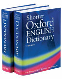 Shorter Oxford English Dictionary on Historical Principles  N Z Book