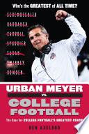 Urban Meyer vs  College Football Book