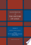 Handbook of the History of Logic  Inductive logic Book