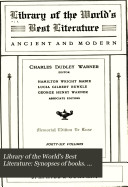 Library of the World's Best Literature: Synopses of books. General index