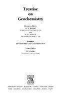 Treatise on Geochemistry Book