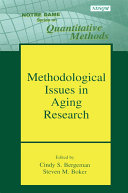 Methodological Issues in Aging Research