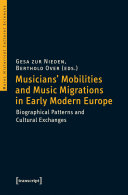 Pdf Musicians' Mobilities and Music Migrations in Early Modern Europe