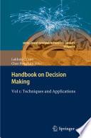 Handbook on Decision Making