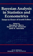Bayesian Analysis in Statistics and Econometrics