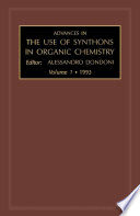 Advances in the Use of Synthons in Organic Chemistry Book