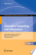 Innovative Computing and Information