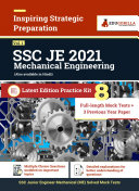 SSC JE (Mechanical Engineering) 2021 | Gorilla Series | 8 Full-length Mock Tests + 3 Previous Year Papers Pdf/ePub eBook
