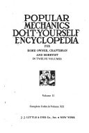 Popular Mechanics Do it yourself Encyclopedia for Home Owner  Craftsman  and Hobbyist