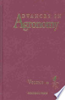 Advances In Agronomy Book PDF
