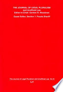 The Journal Of Legal Pluralism And Unofficial Law 61 2010
