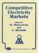 Competitive Electricity Markets Book PDF