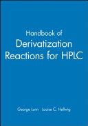 Handbook of derivatization reactions for HPLC Book