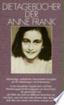 Die Tagebücher der Anne Frank