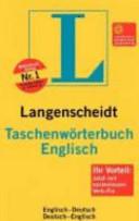Taschenwörterbuch Englisch