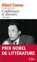 Conférences et discours (1936-1958)