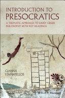 Introduction to Presocratics