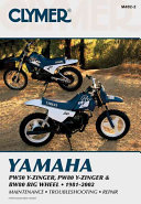 Yamaha PW50 Y-Zinger, PW80 Y-Zinger and BW80 Big Wheel 81-02