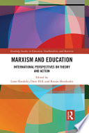 Marxism and Education Book