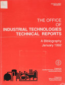 The Office Of Industrial Technologies Technical Reports
