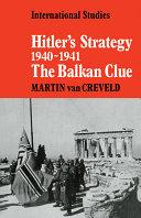 Hitler s Strategy 1940 1941