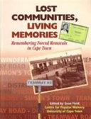 Lost Communities, Living Memories