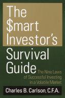 The Smart Investor s Survival Guide