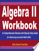 Algebra 2 Workbook Book