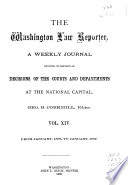 The Washington Law Reporter Book