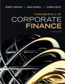 Fundamentals Of Corporate Finance 3rd Edition Book PDF