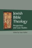 Jewish Bible Theology Pdf/ePub eBook