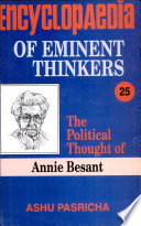 The Political Thought of Annie Besant