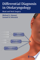 Differential Diagnosis in Otolaryngology Book