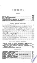 The London and Provincial Medical Directory Book PDF