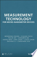 Measurement Technology for Micro Nanometer Devices Book