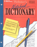 Webster s Notebook Dictionary