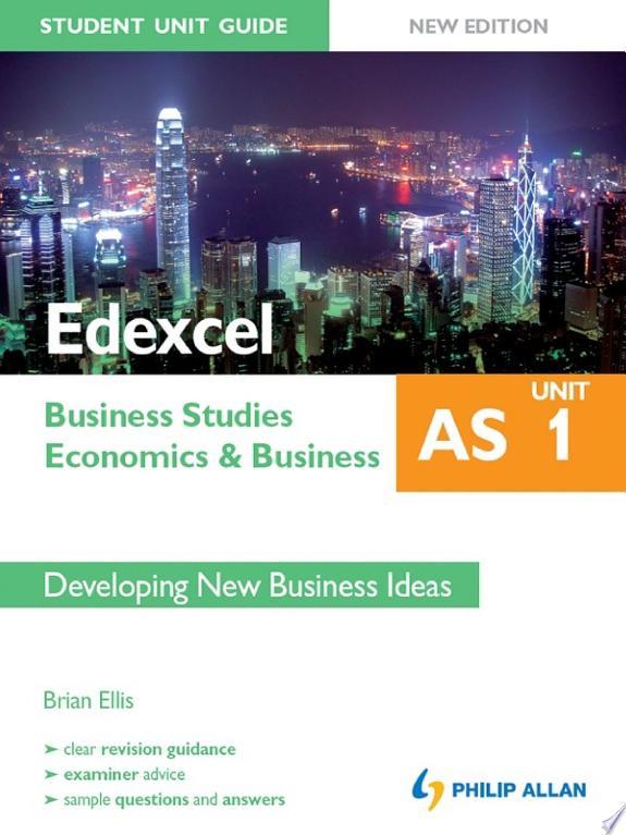 Edexcel AS Business Studies/Economi