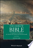 The Hebrew Bible Book