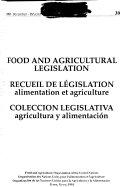 Colecci  n Legislativa Agricultura Y Alimentaci  n